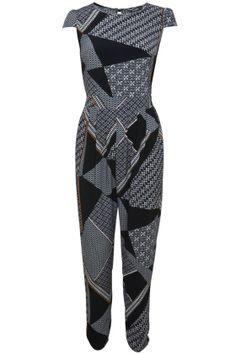 River Island Polka Dot Floral Print Swing Dress, £30 | Look
