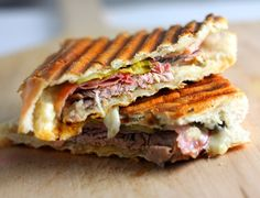 a food representing each of the 50 states (shown: florida's cuban sandwich)