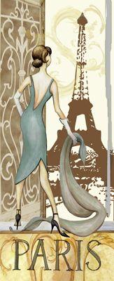Картинки для декупажа «Девушки. Мода и стиль»