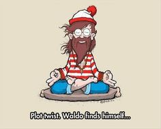 funny wheres waldo plot twist