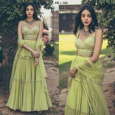 Order #FB 160 Georget with Ruffle pattern Lehenga CHOLI₹2340 on WhatsApp number +919619659727 or ArtistryC.in