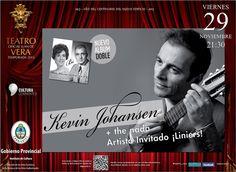 """NUEVO DISCO: Kevin Johansen presentará su propuesta musical """"Bi"""" en el Vera #ArribaCorrientes"""