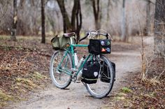 Touring bicycle by Mark Reimer