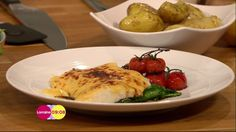 James Tanner cooks up a Good Friday treat in the kitchen on today's show - with smoked haddock rarebit Lorraine Recipes, General Crafts, Yummy Food, Yummy Recipes, The Cure, Cooking Recipes, Treats, Smoke, Fresh