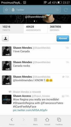 His random tweets about Canada