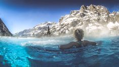 Thermal baths and spa experiences in Switzerland Bath Tea, Milk Bath, Best Spa, Going On Holiday, Sauna, Hot Springs, The Fresh, Switzerland, Places To See