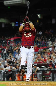 5-9-12: Arizona Diamondbacks outfielder Gerardo Parra reacts after striking out in the ninth inning against the Cardinals. Parra struck out in the ninth with the bases loaded. Whew! Cards win, 7-2.