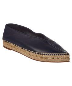 CELINE | Celine Leather Espadrille #Shoes #Flats #CELINE