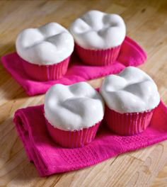 tooth cupcakes.  I don't know when I would ever make these, but they are cool!
