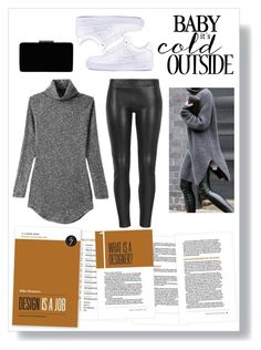 """It's Cold, Babe."" by luckyauliya ❤ liked on Polyvore featuring MuuBaa, NIKE and John Lewis"