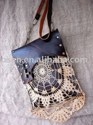 Leather Festival Granny Bag With Vintage Lace And Antique Key - Gypsies,Tramps & Thieves/genuine Cowhide Leather Hand Bag - Buy Genuine Cowhide Leather Hand Bags,Bags Handbags Women Channel,Designer Bag Tote Handbag Product on Alibaba.com