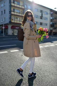 画像 : ニューバランス女子増えてます♪オシャレな海外女性の履きこなしコーディネート - NAVER まとめ