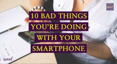 STOP WHAT YOU'RE DOING! In the middle of a phone call or Instagramming your lunch? Hang up, stop posting. The following information is guaranteed to save you a lot of time and money in the long run. We have compiled a list of the top 10 most dangerous things people do with their smartphones and if you don't want to fall victim of the next big scam we would advise you to watch this video! #Sprout #FreedomToGrow #Smartphone #tablet #mobile #cellphone #love #photooftheday #smile #amazing…