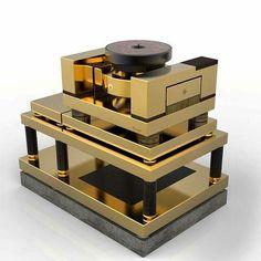 Dalby Audio design Parousia Reference turntable