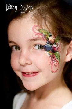 Learn more at media-cache-ec0.pinimg.com. Cute Christmas ornaments face painting.