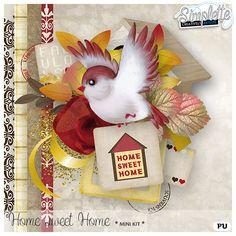 Digital Art :: Kits :: Home sweet Home (mini kit)