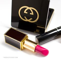 #Gucci Blush, #TomFord Lipstick, #Chanel Mascara