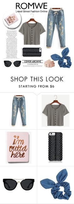 """""""ROMWE"""" by alina-gritsay ❤ liked on Polyvore featuring Express, Savannah Hayes, Quay and Dorothy Perkins"""