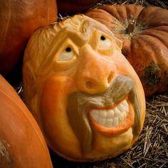 Pumpkin Head  By John B