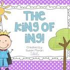 The King of ING! -TPT freebie for teaching /ing/ trigraph