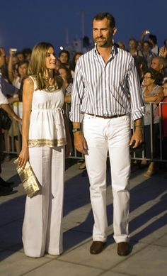 Queen Letizia of Spain Photos - Crown Princess Letizia of Spain and Crown Prince Felipe attend a pre-wedding reception at the Poseidon Hotel on August 24, 2010 in Spetses, Greece.The small greek Island, three hours from Athens, is gearing up for the Royal Wedding of Prince Nikolaos of Greece and Tatiana Blatnik on Wednesday. Royals from all over Europe and the world are expected to attend the ceremony.Prince Nikolaos is the second son of King Constantine and Queen Anne-Marie while Tatiana…