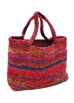 Crochet bag, made by Ella Kolanowska