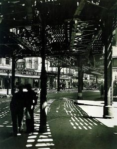 Second ans Third Ave Lines 1936 Berenice Abbott