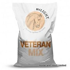 Hilight Veteran Mix 20kg Great value non-heating mix for older horses Hilight Veteran Mix is a palatable and digestible non-heating mix for older horses and ponies at rest or in work.