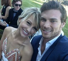 Chelsea Kane & Derek Theler. Absolutely adorable together