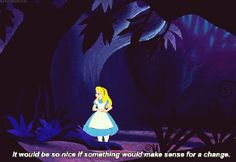 Alice In Wonderland Quotes GIFs - Find & Share on GIPHY