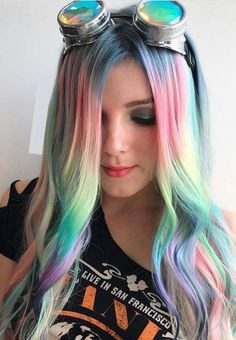 55 Magical Pastel Hair Color Ideas for 2018