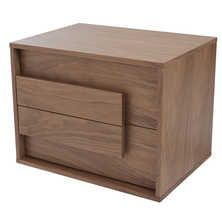 [ Median Bedside Table Walnut Dwell ] - Best Free Home Design Idea & Inspiration Walnut Bedside Table, Bedside Table Design, Modern Bedside Table, Bedside Tables, Cushions Ikea, Dining Room Chair Cushions, Bed Furniture, Modern Furniture, Furniture Design