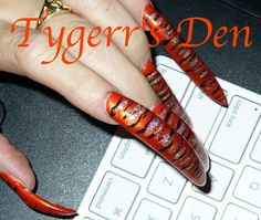 Foot fetish white nail redhead