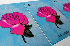 Loteria La Rosa Mexican Retro Illustration Art Print Vintage Giclee on Paper Canvas Poster Wall Decor #loteria #LaRosa #mexican #mexico #print #homedecor #retro  #art #homedecorideas #wallart #vintageprint #vintage #homedecorideas