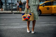 The Best and Fiercest Street Style from New York Fashion Week Spring 2 Photos…