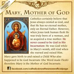 Mary. Mother of God