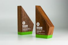 Oxfam Trailwalker Awards | Sustainable Trophies | Design Awards