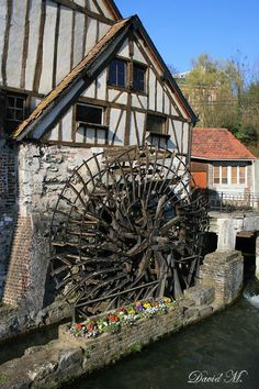 Le moulin de Pannevert - Water mill - Rouen - Upper Normandy dept. - Seine-Maritime région, France