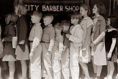 Long Lines,San Augustine, Texas, 1939