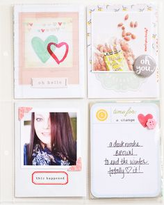 Project Life | February 2014 #projectlife #scrapbook