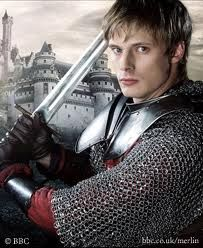 King Author in tv series Merlin!