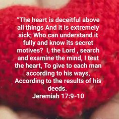 Bible Psalms, Bible Verses, The Heart Is Deceitful, Bible Verse Pictures, King Jesus, Integrity, Proverbs, Wise Words, Jesus Christ