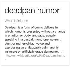 Deadpan humorists essay
