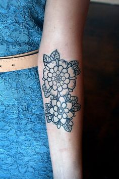 flowers #forearm #arm #tattoos