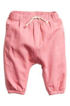 Pantalón de algodón forrado | H&M