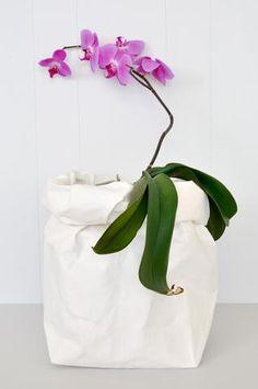Uashmama Paper Bag - White - XL by Koromiko