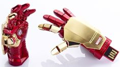 Info Think's Iron Man 3 Hand USB Flash Drive is just the companion that Marvel Iron Man fans need to hold all their top secret info on (or school/work info). The 16GB flash drive looks like Iron Man's infamous robotic hand with the USB stick at the bottom of the Mark 42 hand complete with [...]