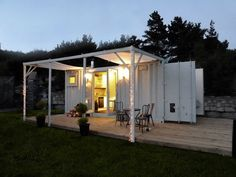 Container Home Idea: ตู้คอนเนเนอร์บ้าน หลังเล็ก กระทัดรัด ความสุขที่ลงต...