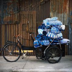 denim delivery #indigo #chalknyc #chalkaholic #inspiration www.chalknyc.com