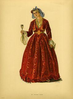Φορεσιά Κομοτηνής. Costume from Comotini. Collection Peloponnesian Folklore Foundation, Nafplion. All rights reserved.